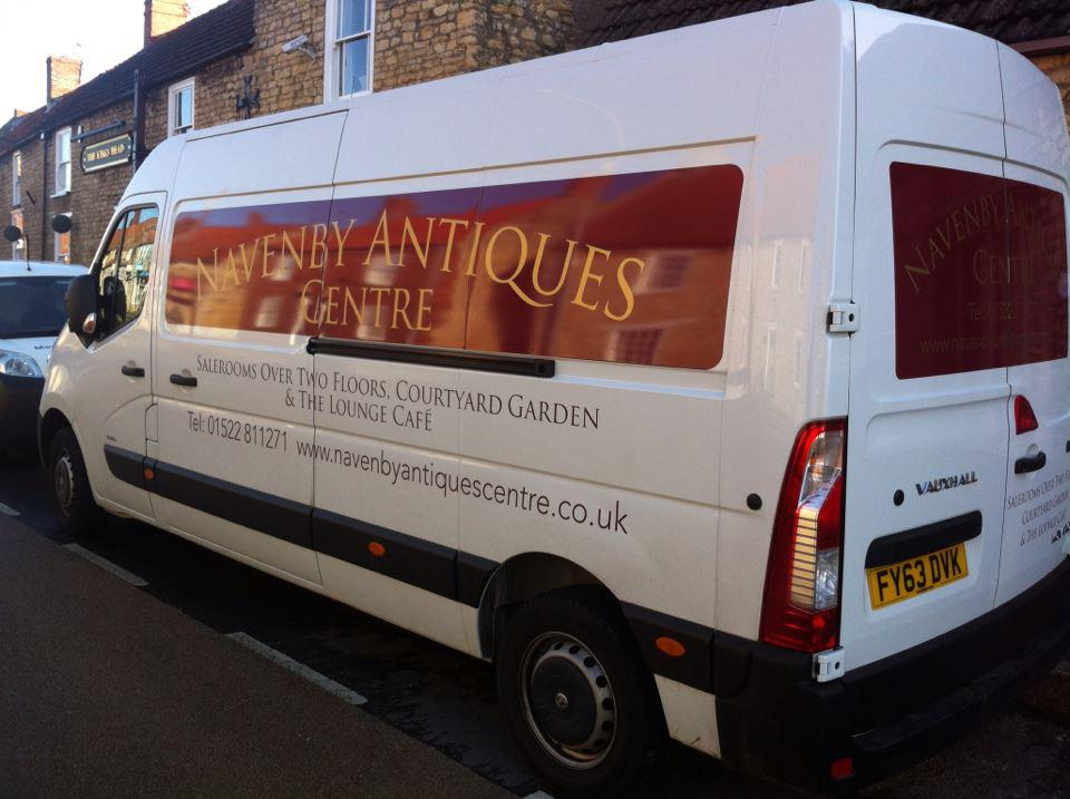 New Navenby Antiques Centre Van