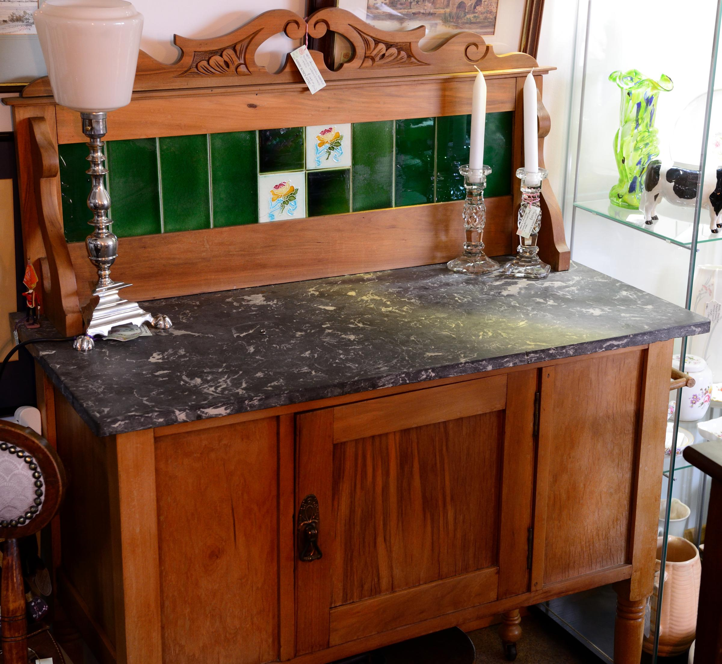 Marble Topped Washstand