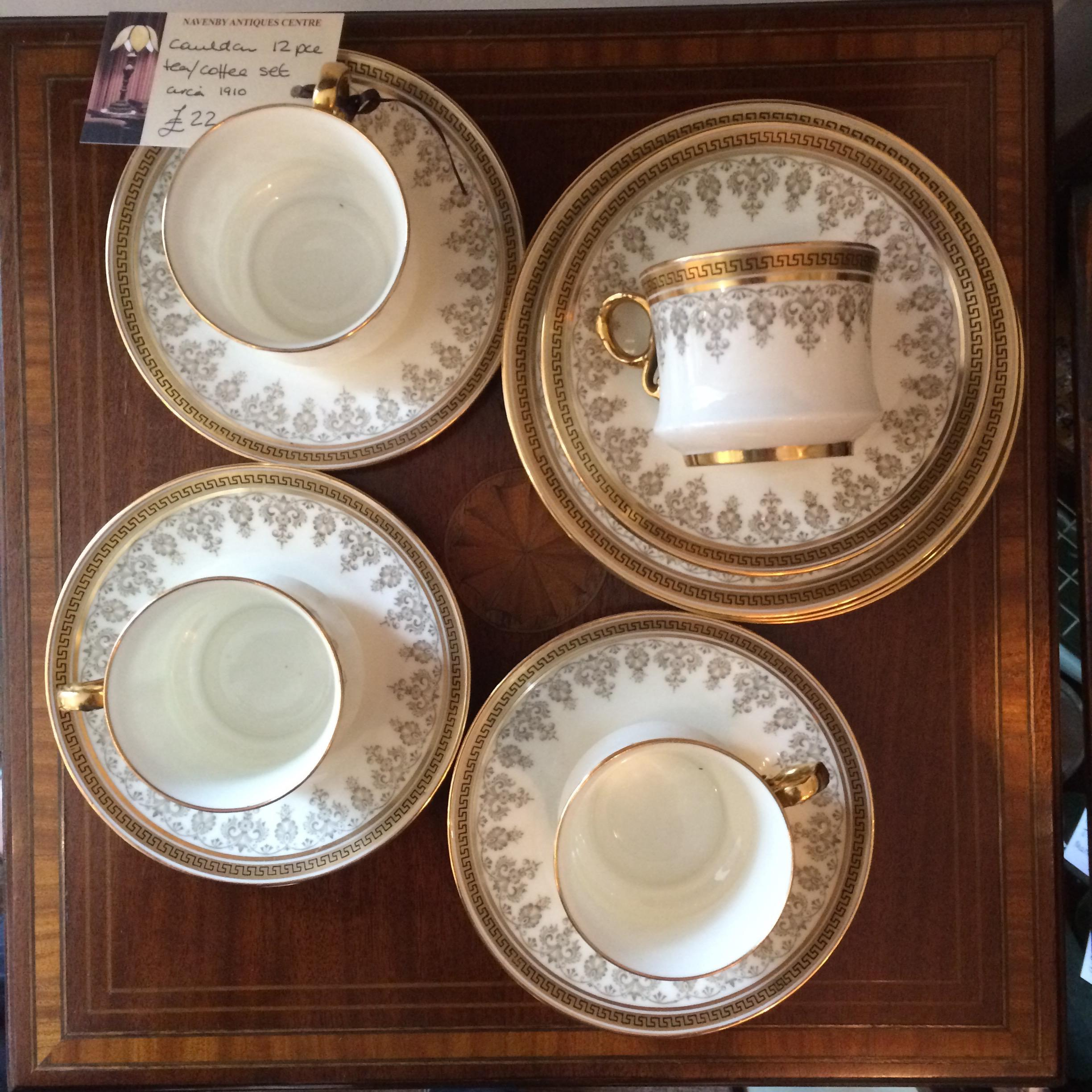 Cauldon Tea/Coffee Set