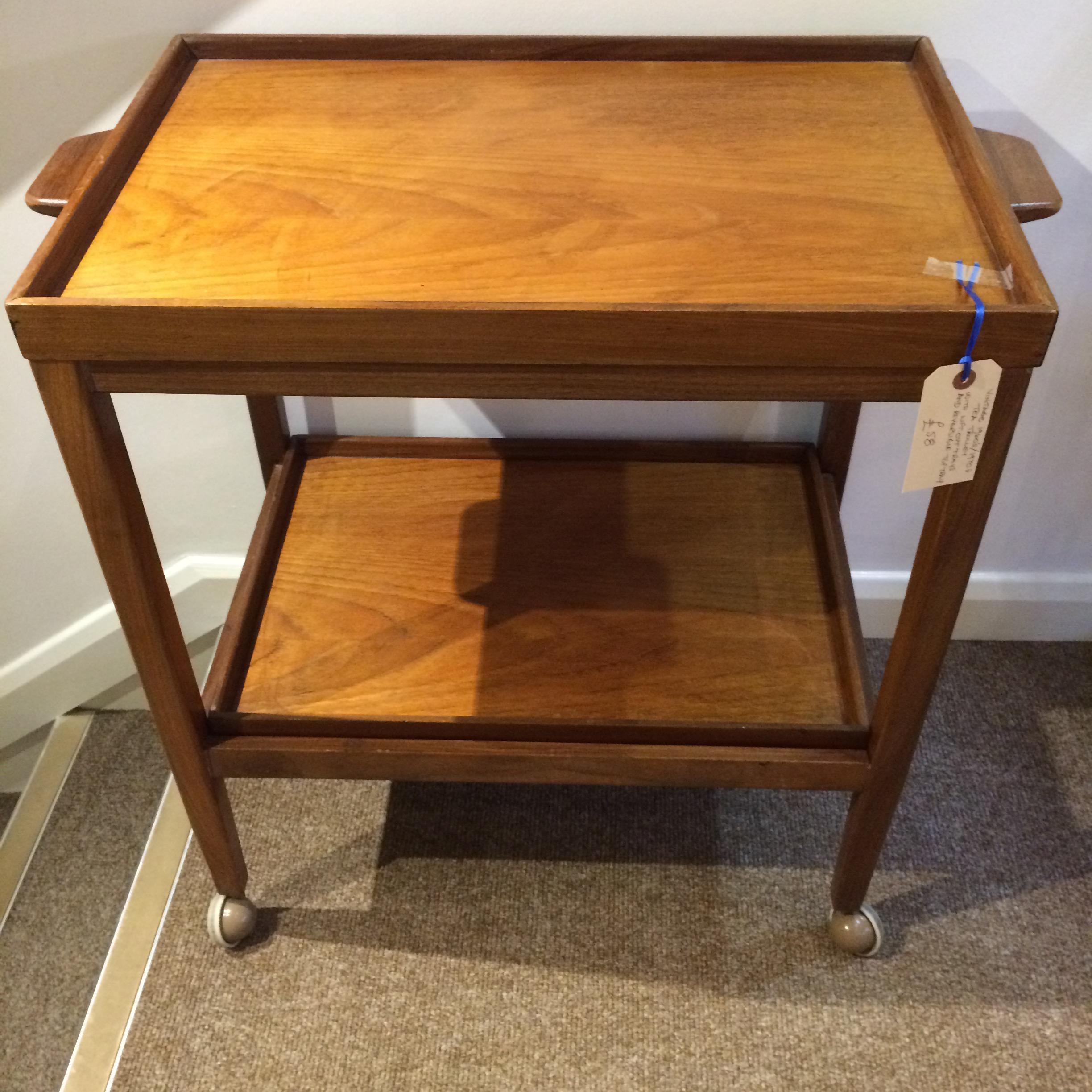 Vintage 1960s/1970s Tea Trolley