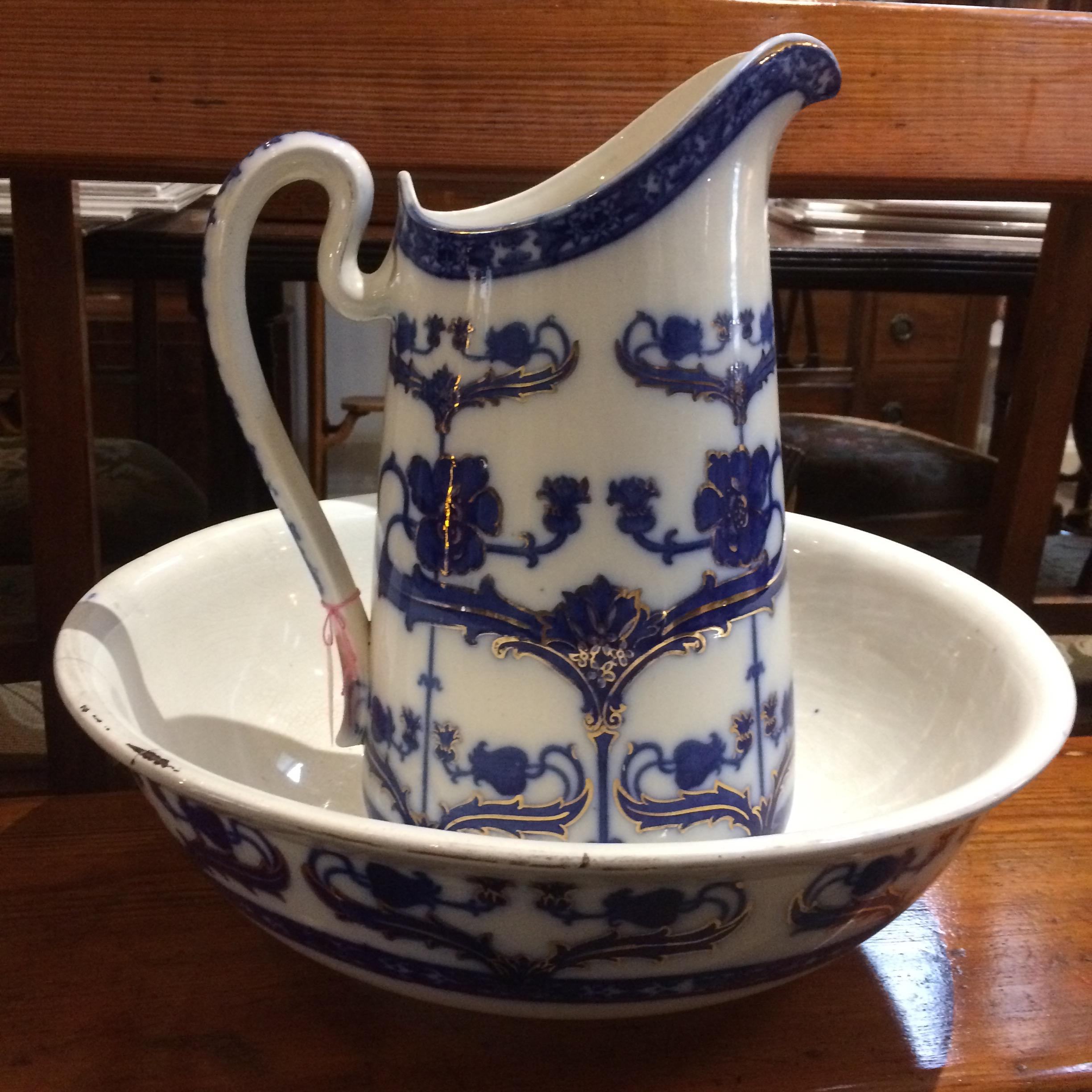 Wash Jug and Bowl
