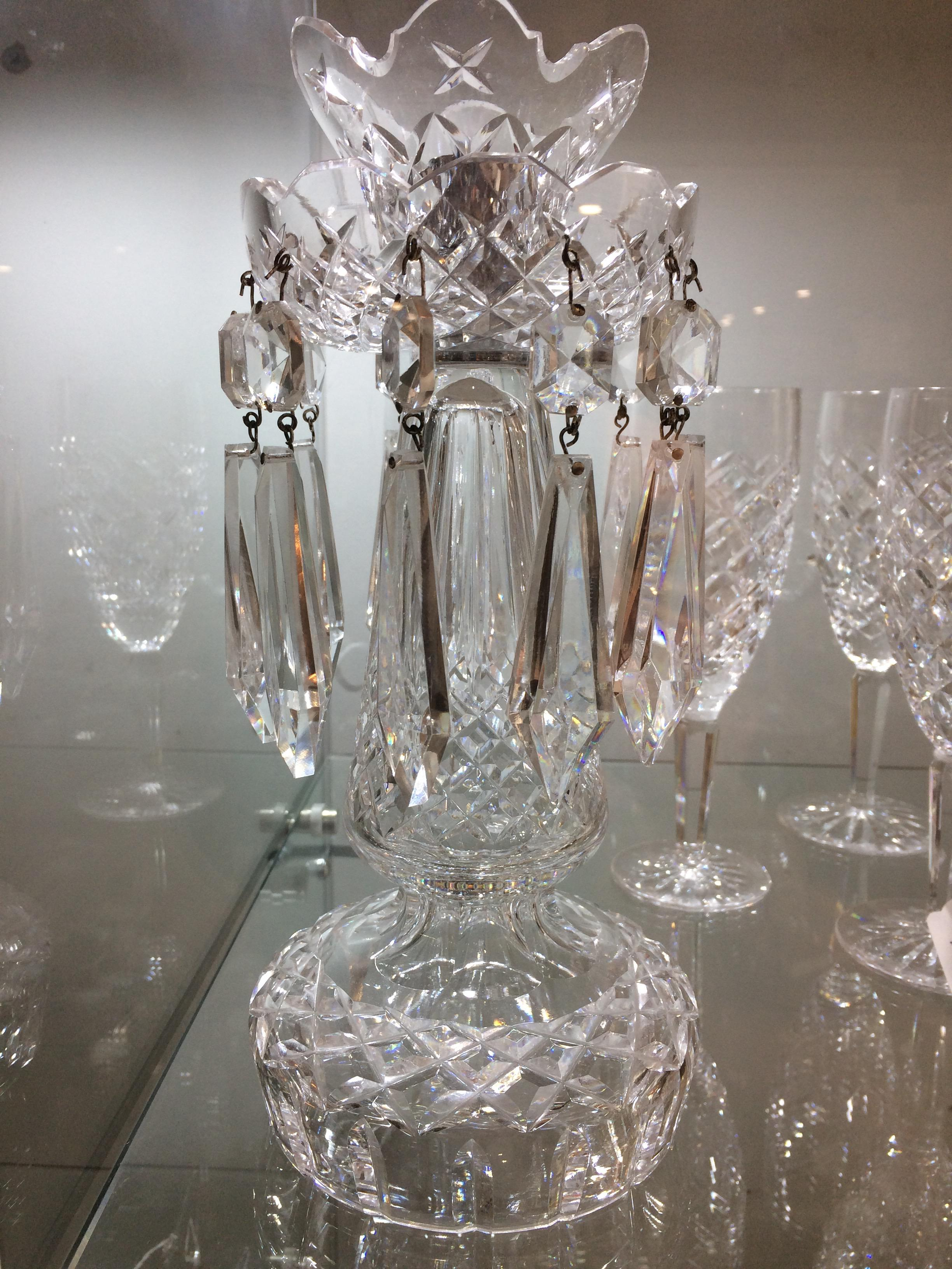 Pair of Waterford Crystal Lustres