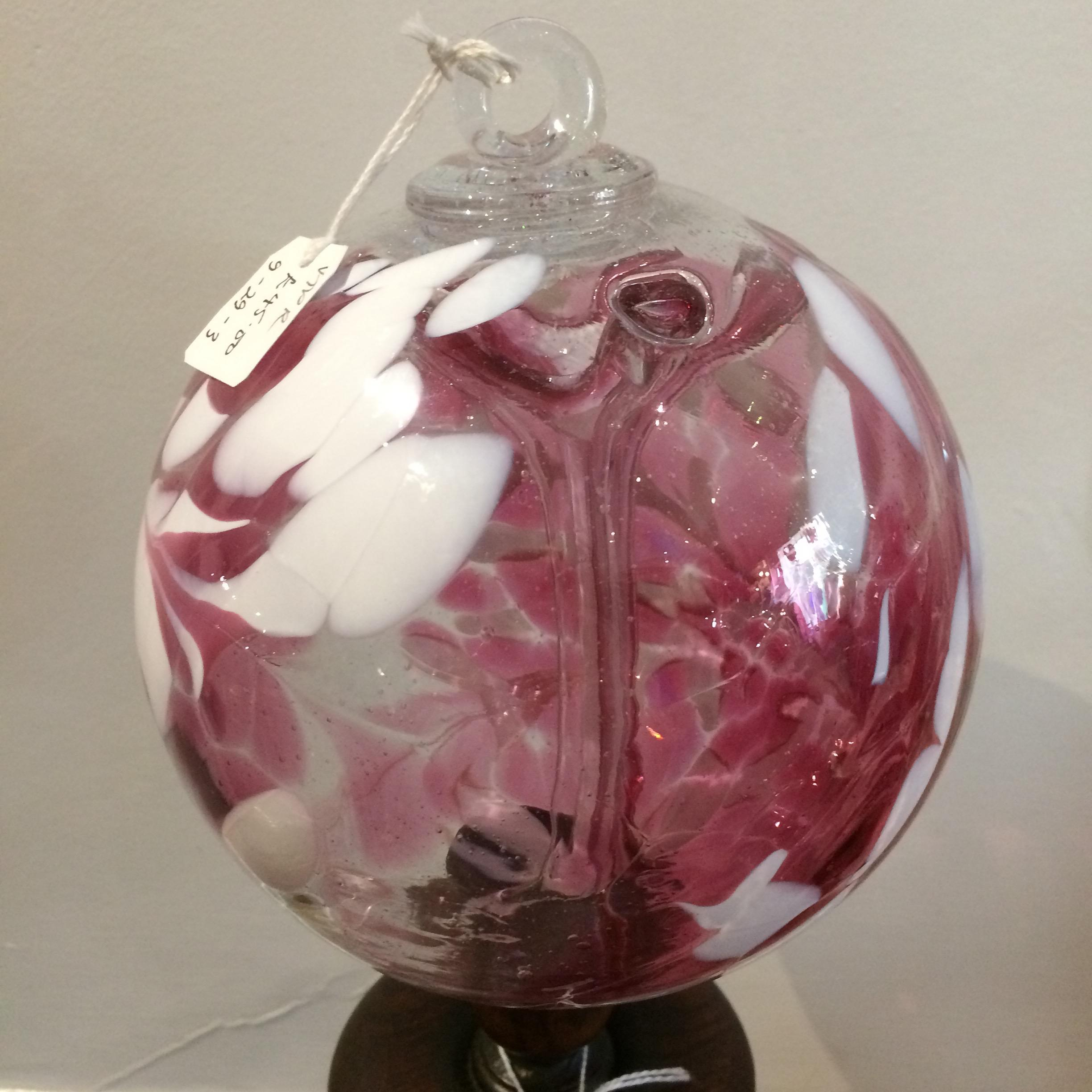 Vintage Murano 'End of Day' Glass Witch Ball